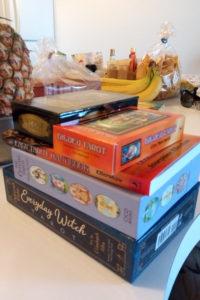 タロットカードとパイナップル